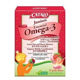 CATALO 兒童Omega-3活腦補眼 Choline + DHA營養啫喱 27粒