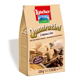 Loacker萊家粒粒意大利咖啡威化餅220g