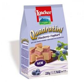 Loacker萊家粒粒藍莓乳酪威化餅220g
