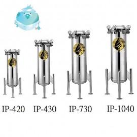 IP-420,430,730,1040 -填充物料式工業用淨水器