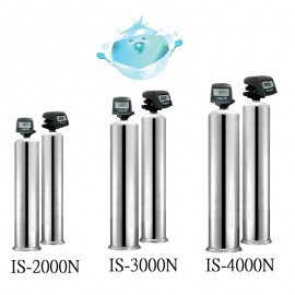 IS-2000, 3000, 4000N-填充物料式工業用淨水器