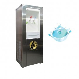 WD09不鏽鋼座地式自來水冷熱兩用飲水機