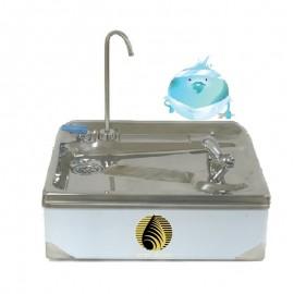 WF01不鏽鋼掛式飲水盤