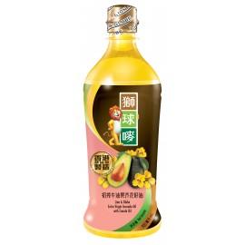 獅球嘜初搾牛油果芥花籽油900ml (原箱15支)