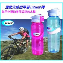 GeGoo Bubble Hydration Single Wall Tritan Bottle 900ml 運動流線型單層Tritan水樽