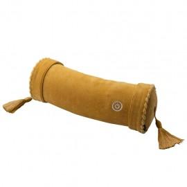 Lourdes 卷型按摩抱枕(黃色)